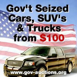 Source for Government Car Auctions