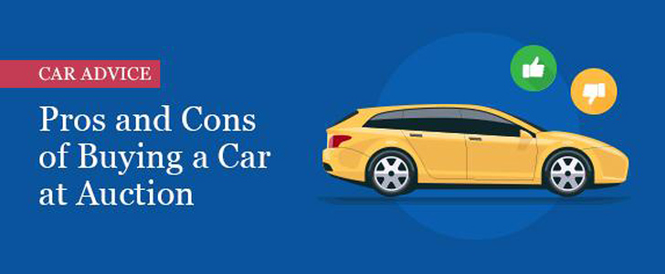 Pros and Cons of Buying a Car at Auction